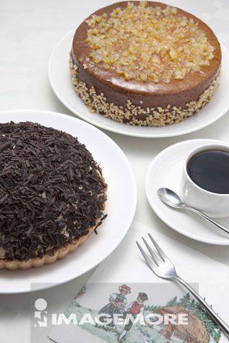 咖啡香蕉蛋糕,英伦蛋糕,蛋糕,甜点,