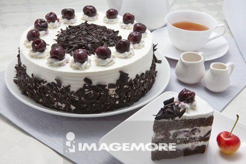 德国黑森林蛋糕,蛋糕,甜点,