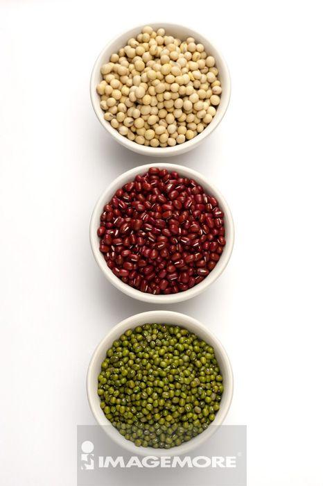 红豆,绿豆,黄豆,