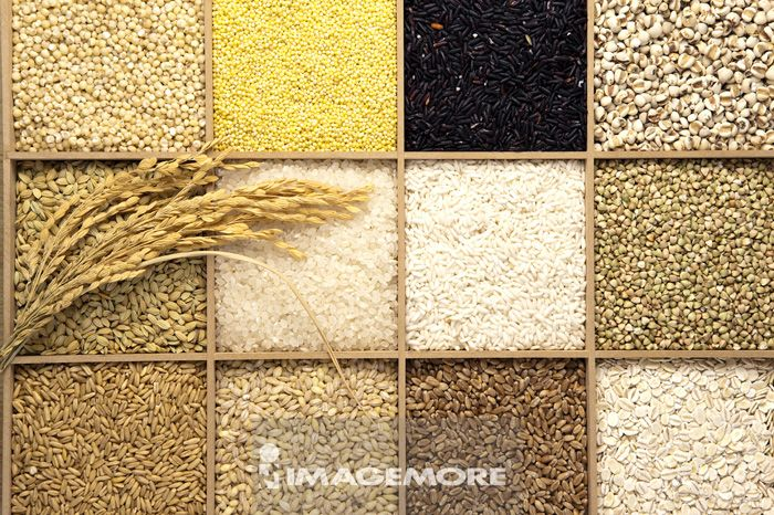 稻米,稻榖,糯米,黑糯米,小米,小麦,大麦,荞麦,高粱,薏仁,燕麦,