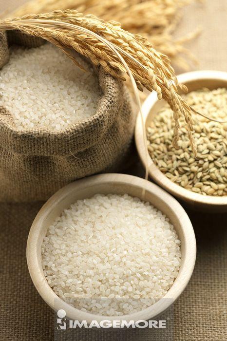 稻穗,稻米,稻榖,