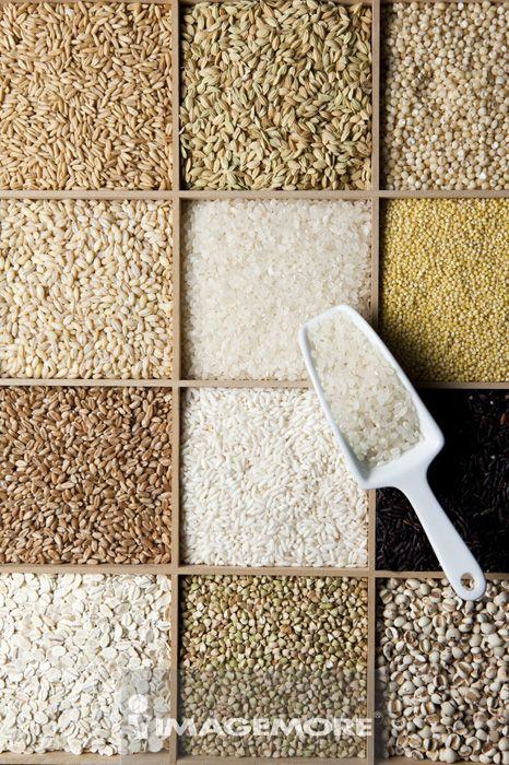 稻米,糯米,黑糯米,小米,小麦,大麦,荞麦,高粱,薏仁,燕麦,