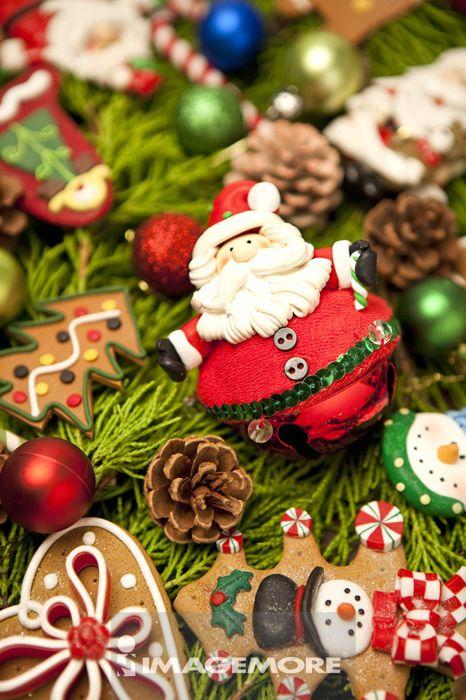 圣诞装饰,圣诞球状装饰品