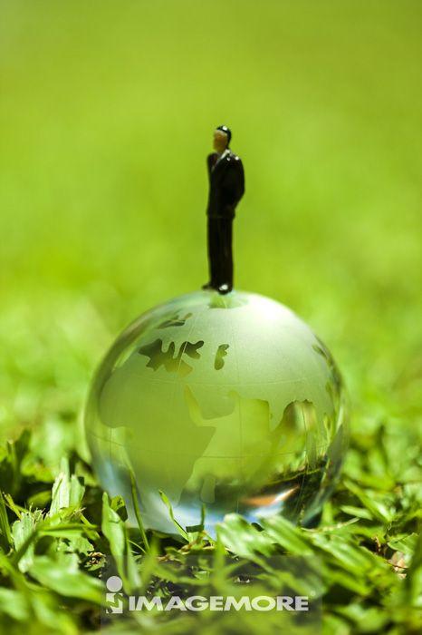 水晶球,地球仪