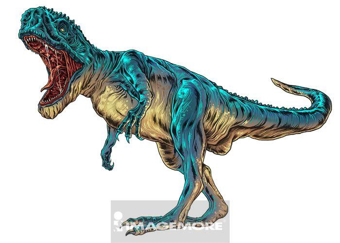 恐龙,暴龙, imagemore_上海富昱特_正版图片库_优质