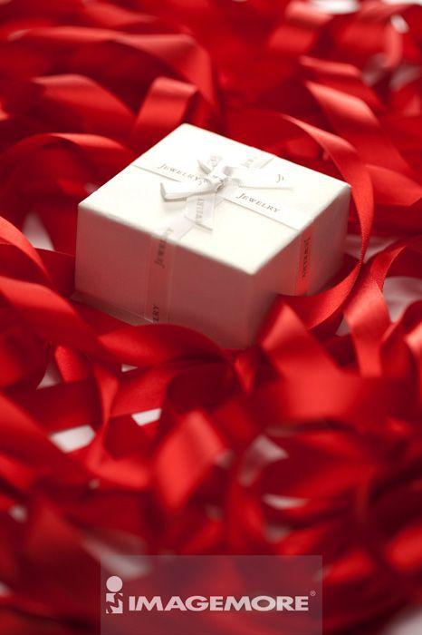 缎带,礼盒