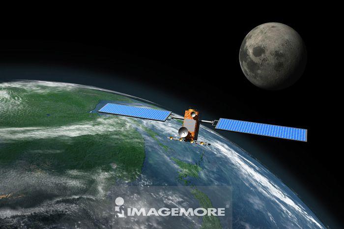 地球,卫星,月亮