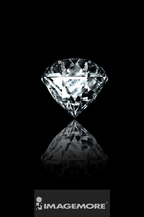 插画,钻石,