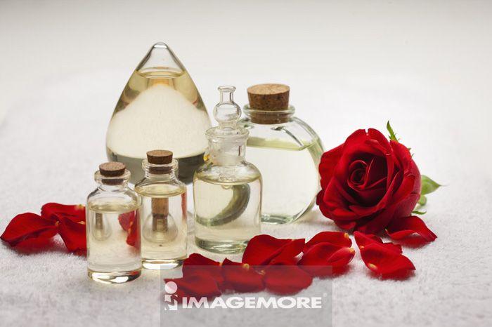 精油,玫瑰,