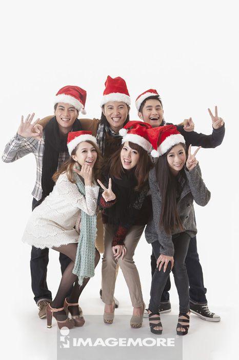 圣诞节,朋友,聚会