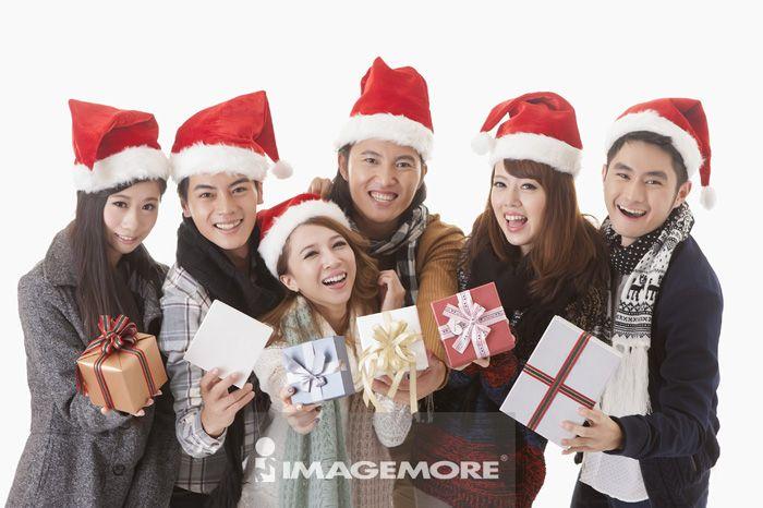 圣诞节,圣诞礼物,朋友