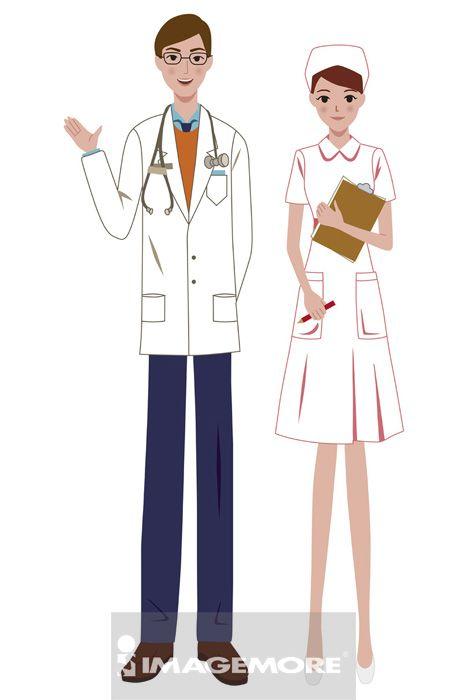 医生,女护士,