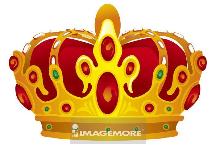 插画,皇冠,