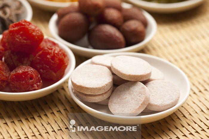 蜜饯,红橄榄,仙楂,甘草梅,