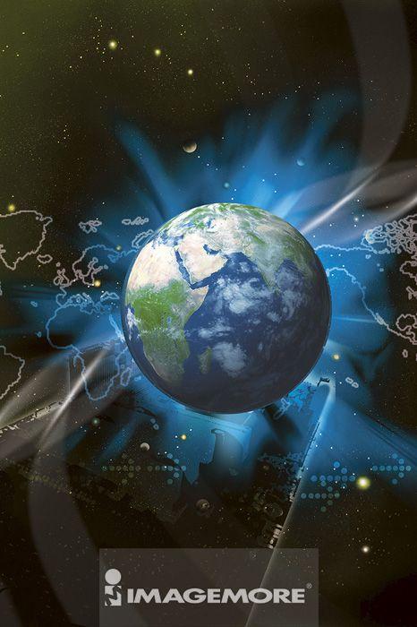 地球,电脑绘图,数码合成,