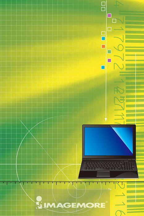 笔记型计算机,电脑绘图,数码合成,