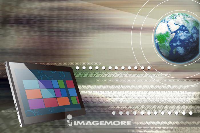 平板电脑,电脑绘图,数码合成,