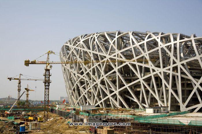 北京,2008年奥运会主会场鸟巢,