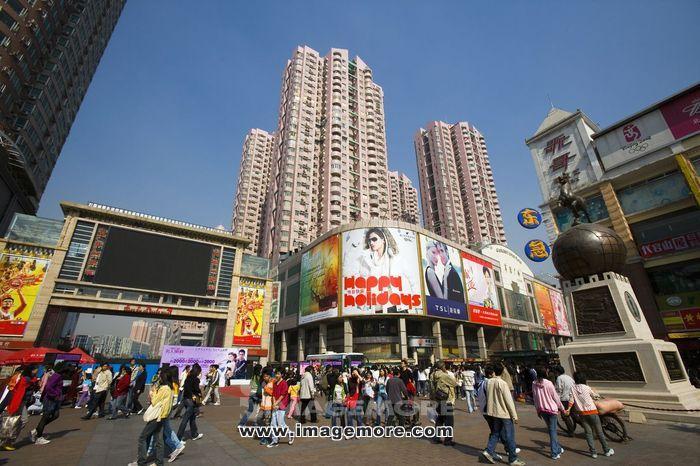 上下九商业步行街,广东广州,