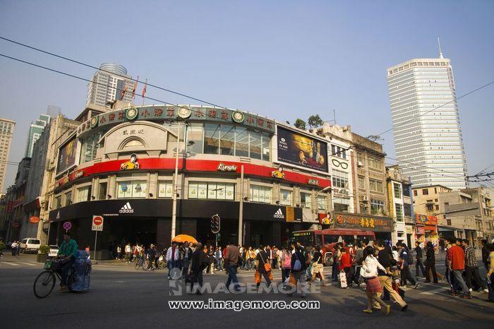 北京,路商业步行街,广东广州,