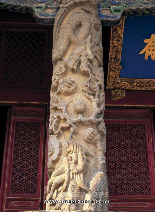 孔庙,龙柱,