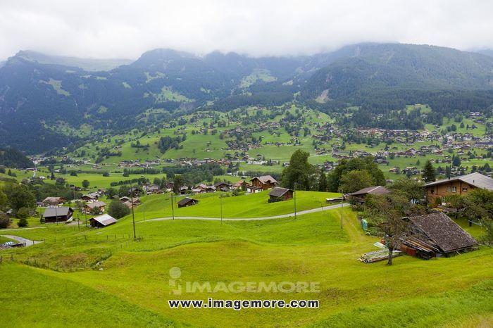 瑞士,欧洲阿尔卑斯山,阿尔卑斯山,少女峰,(Jungfrau),