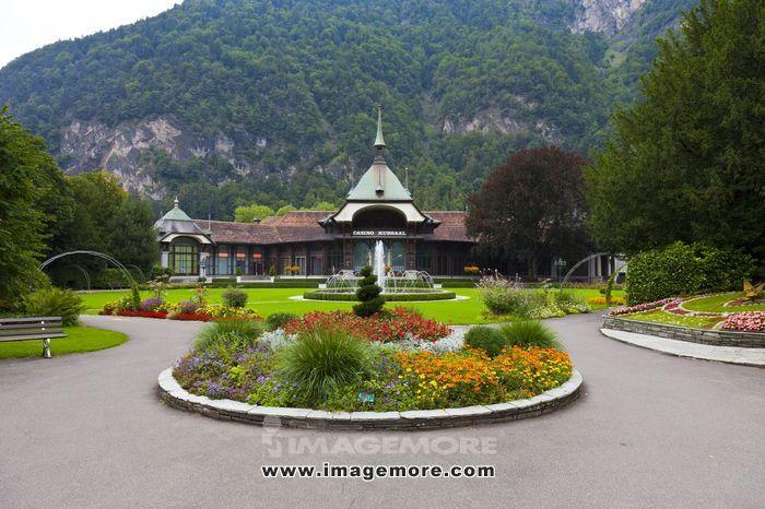 瑞士,因特拉肯,(Interlaken),