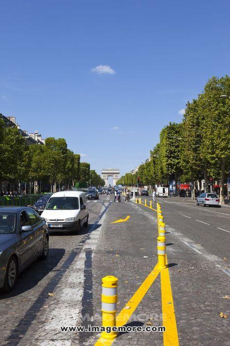 法国,巴黎,香榭丽舍大道,