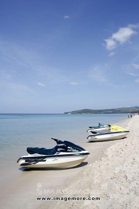 泰国普吉岛海域海滩
