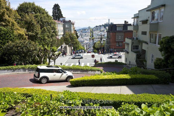 美国旧金山街头