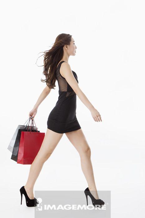 女性,购物,
