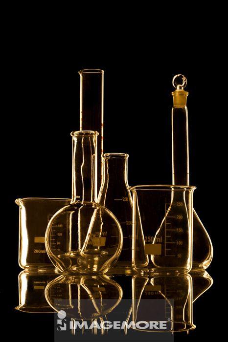 医疗和医学,玻璃器皿,器具,