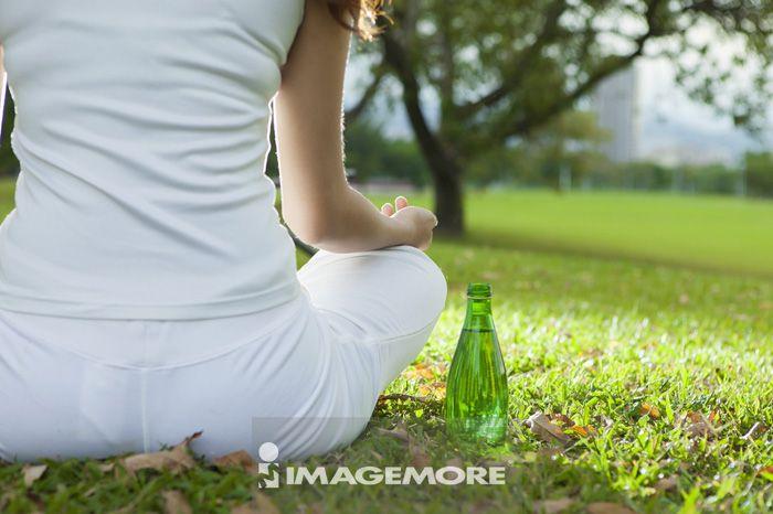 青年女人,健康生活