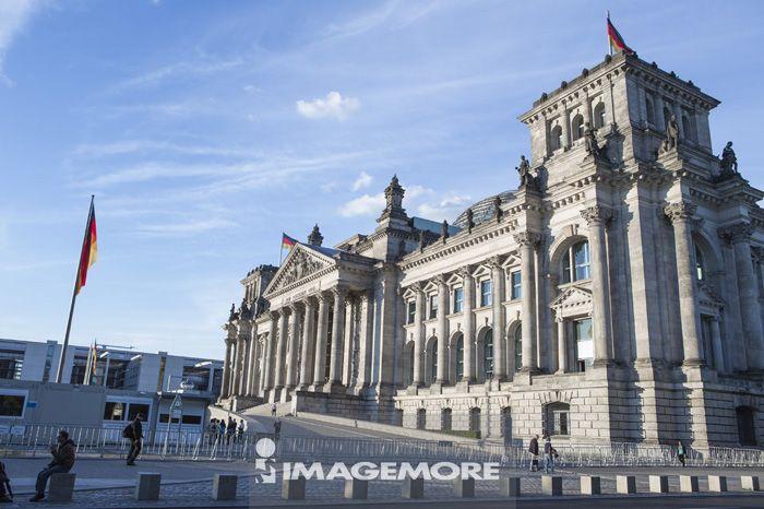 德国国会大厦,柏林,德国,欧洲,