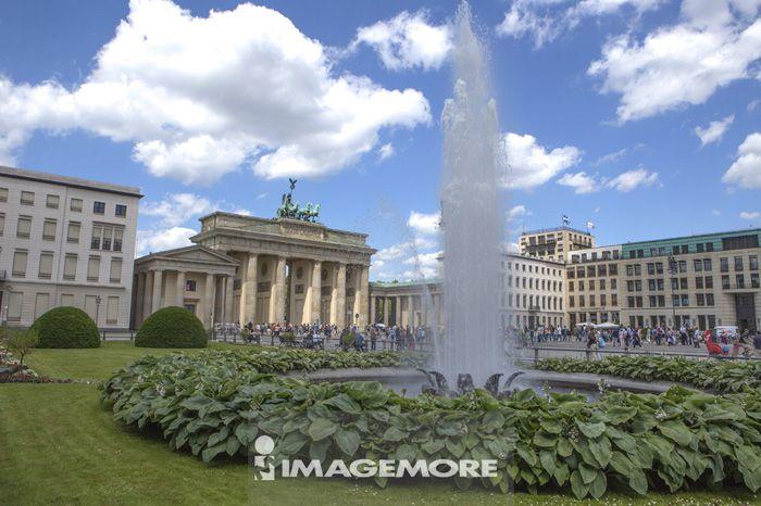 布兰登堡门,柏林,德国,欧洲,