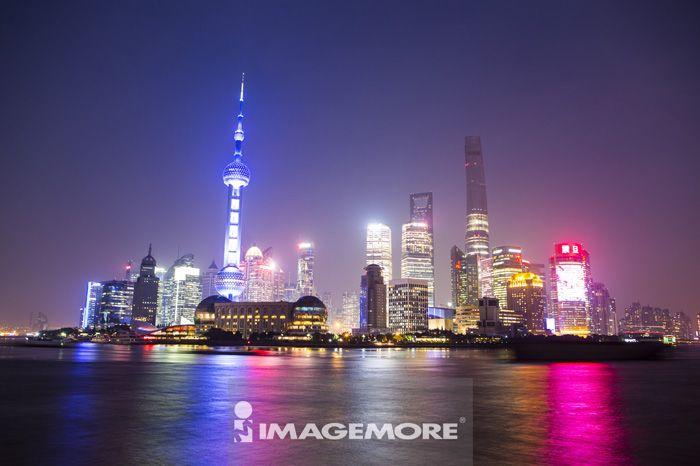 浦东,陆家嘴金融贸易区,上海,