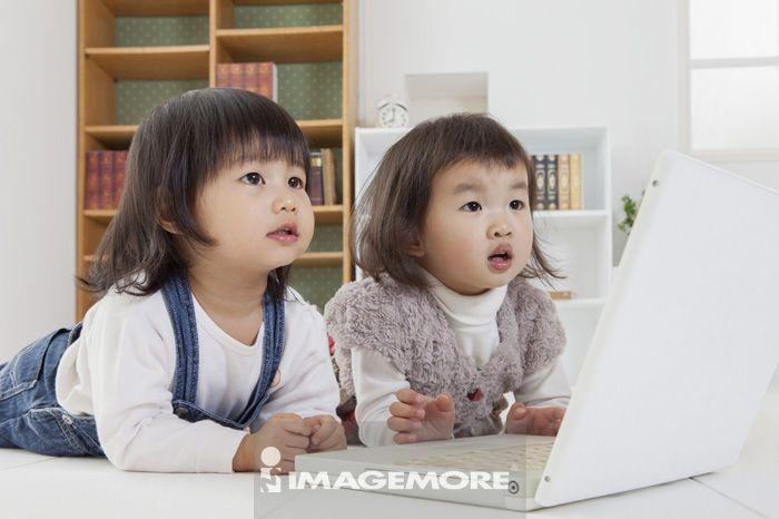 学习,女孩,儿童,
