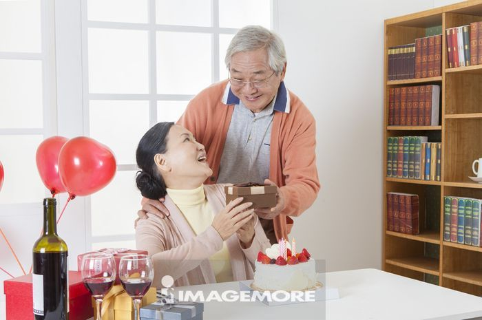 老年夫妻,居家生活,