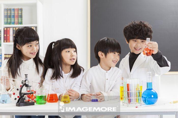 科学实验,儿童