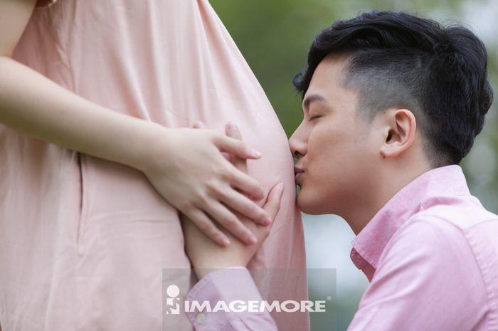 夫妻,孕妇,亚洲,台湾,台北,