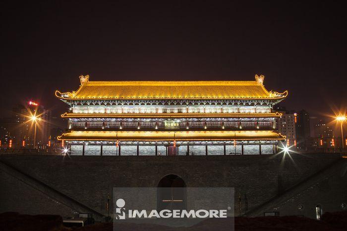 ,亚洲,中国,陕西省,西安,古城门,古城第一门,