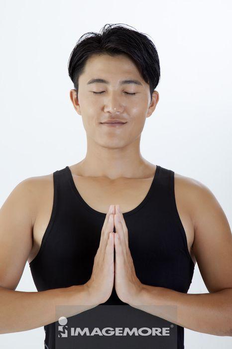 ,男性,瑜伽,