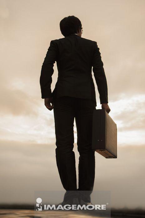 ,剪影,商业人物,商业人士,商务人士,男性,