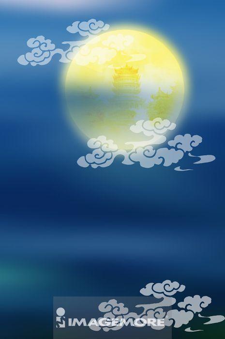 月亮,中秋节