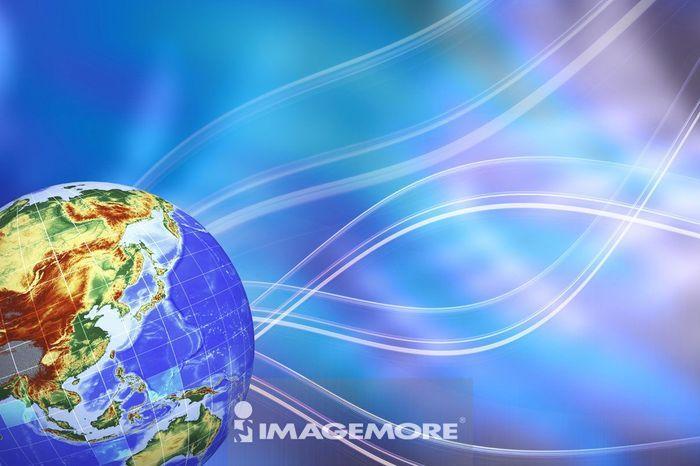 地球,数码合成高清合法正版商业图片