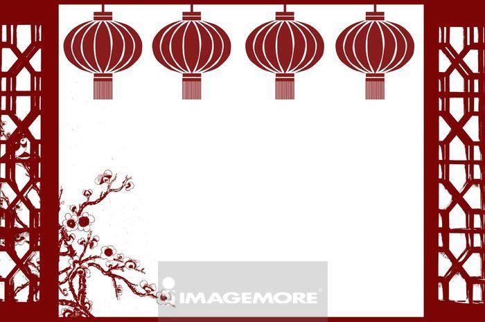 春节可爱图边框