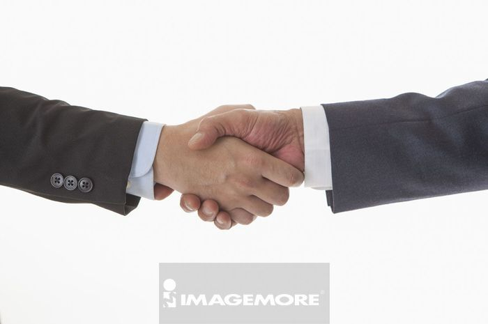 成功人士,商业人物,握手,