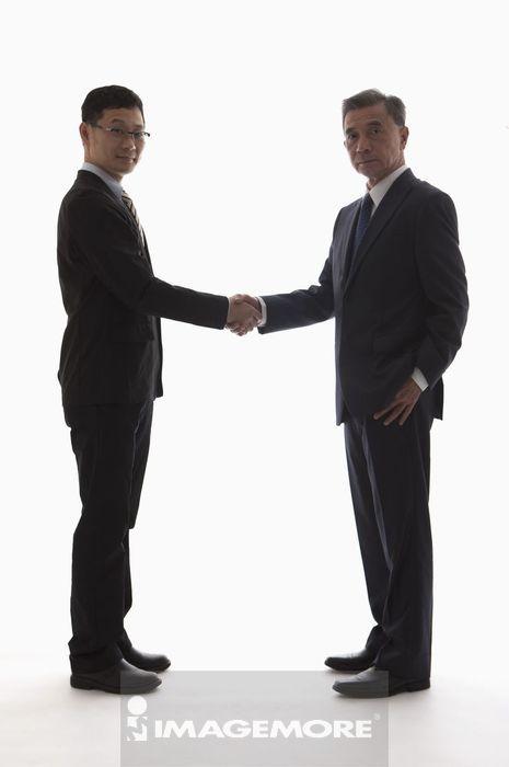 成功人士,商业人物,握手