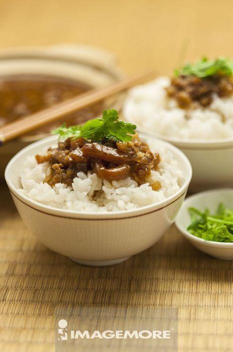 卤肉饭,中式料理,