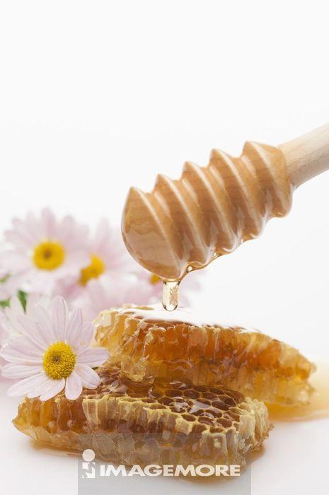 蜂巢,蜂蜜,蜂蜜棒,